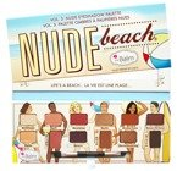 ThaBalm Nude Eyeshadows Palette Nude Beach vol.3 Paleta cieni do powiek