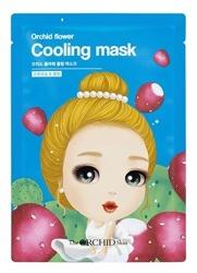 The Orchid Skin Orchid Flower Cooling Mask Chłodząco-kojąca maska w płachcie