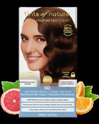 Tints of Nature Farba do włosów 5D Jasny złoty brąz