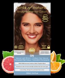 Tints of Nature Farba do włosów 5N Naturalny jasny brąz