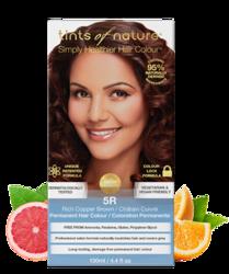 Tints of Nature Farba do włosów 5R Miedziany brąz