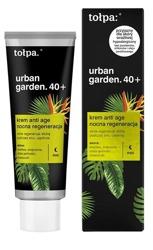 Tołpa Urban Garden 40+ Krem anti age Nocna regeneracja 40ml