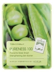 TonyMoly Pureness 100 Placenta Mask Sheet Wzmacniająca maska do twarzy w płachcie
