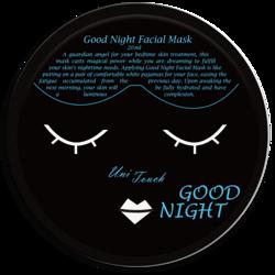 UNITOUCH Miss ô Good Night Facial Mask Nawilżająco-relaksująca maseczka w płachcie