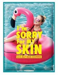 Ultru I'm Sorry For My Skin Jelly Mask - Soothing Kojąco-nawilżająca maska w płachcie 33ml