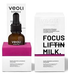 VEOLI Botanica LINIA PROFESJONALNA FOCUS LIFTING MILK natychmiastowo liftingujące, anti-aging serum emulsyjne z roślinnym zamiennikiem retinolu i Fision Instant Lift 30ml