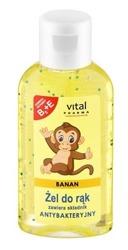 Vital Pharma żel antybakteryjny banan 50ml