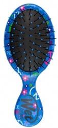 Wet Brush Szczotka do włosów MINI Niebieskie Kwiatki