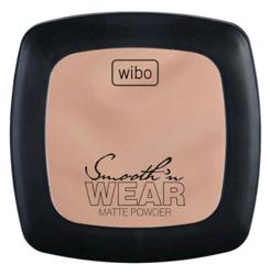 Wibo Smooth Wear Matte Powder Puder matujący 3