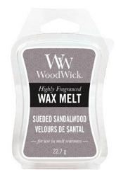 WoodWick Wax Melt Wosk zapachowy SUEDE&SANDALWOOD 22,7g