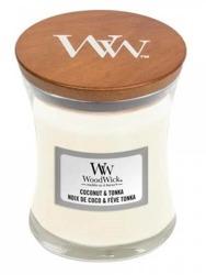 WoodWick świeca mała Coconut&Tonka 85g