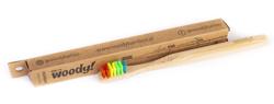 WoodyBamboo Szczoteczka bambusowa Kids miękka/soft