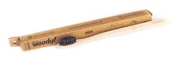 WoodyBamboo Szczoteczka bambusowa Natural miękka/soft