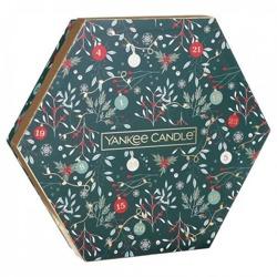 Yankee Candle Countdown To Christmas Zestaw prezentowy świecznik + 18x tealight