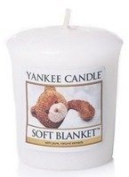 Yankee Candle Sampler Świeca Soft Blanket 49g
