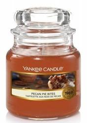 Yankee Candle Słoik mały Pecan Pie Bites 104g