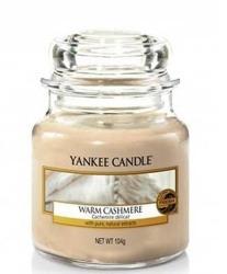 Yankee Candle Słoik mały Warm Cashmere 104g