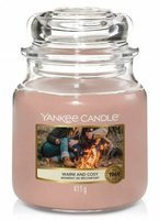 Yankee Candle Słoik średni Warm And Cosy 411g