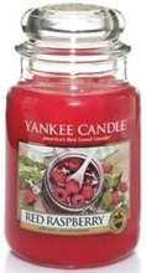 Yankee Candle Świeca zapachowa Słoik duży Red Raspberry 623,7g