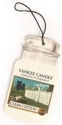Yankee Candle car jar Odświeżacz samochodowy Clean Cotton 1 szt.