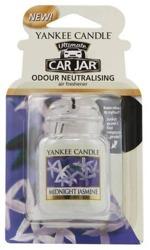 Yankee Candle car jar Ultimate  - Odświeżacz samochodowy Zawieszka słoik Midnight Jasmine 1szt.