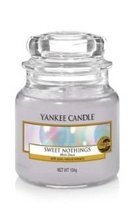 Yankee Candle słoik mały Sweet Nothings 104g