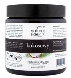 Your Natural Side Olej kokosowy 100% naturalny nierafinowany 100ml