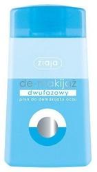 Ziaja de-makijaż - dwufazowy płyn do demakijażu oczu, 120 ml