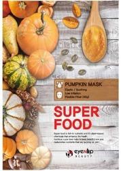 eyeNlip Beauty SuperFood Pumpkin Maska w płachcie o działaniu uelastyczniającym, łagodzącym i rozświetlającym 23ml