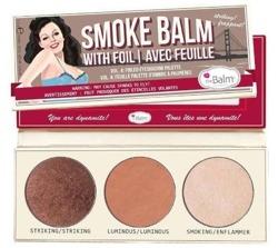 theBalm Smoke Balm Smokey Eye Pallete 4 Paletka 3 cieni do powiek