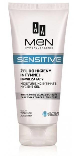 AA MEN Sensitive żel do higieny intymnej 200ml