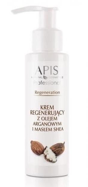 APIS Professional- Krem Regenerujący z olejem arganowym i masłem shea 100ml