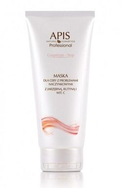 APIS Professional - Maska do cery naczynkowej 200ml