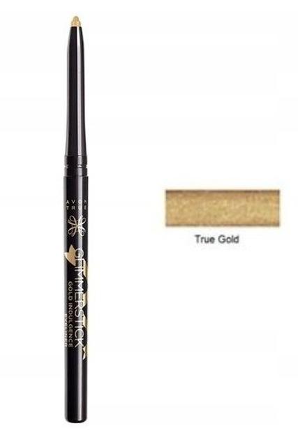 AVON Glimmerstick eyeliner Metaliczna kredka do oczu True Gold