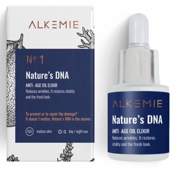 Alkmie Anti-Aging NATURE'S DNA Eliksir odmładzający 15ml