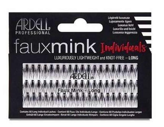 Ardell Fauxmink kont-free Individual Kępki rzęs Long Black
