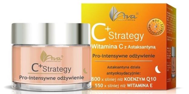 Ava C+ Strategy Pro-intensywne odżywienie, krem na noc 50ml