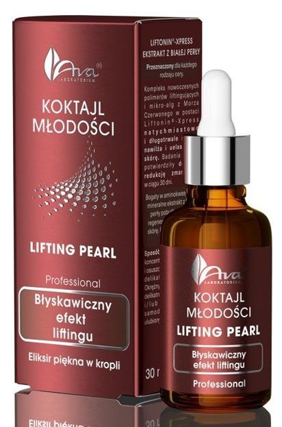 Ava Koktajl Młodości Lifting Pearl Błyskawiczny efekt liftingu 30ml