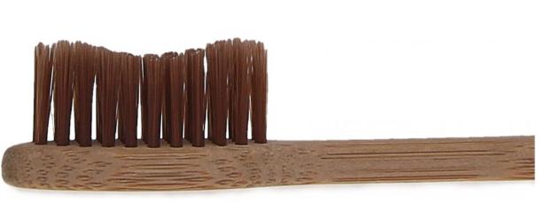 BIOMIKA Bambusowa szczoteczka do zębów BRĄZOWA
