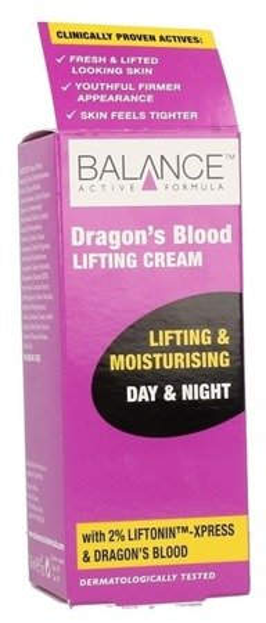 Balance Active Formula Dragon's Blood Lifting Moisturising Cream Liftingujący krem do twarzy 50ml