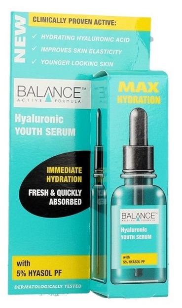 Balance Active Formula Max Hydration Serum Hyaluronic Nawilżające serum do twarzy 30ml