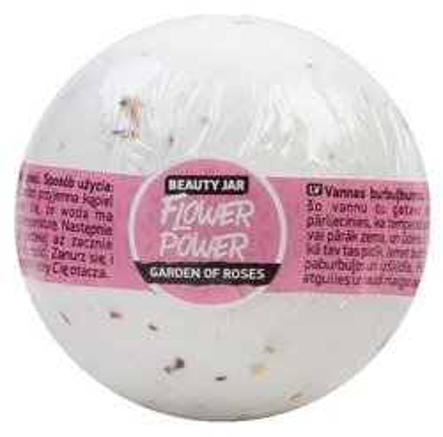 Beauty Jar Musująca kula do kąpieli Flower Power 150g