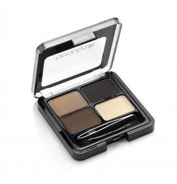 Beauty UK High Brow - Eyebrow Kit - Paleta do stylizacji brwi