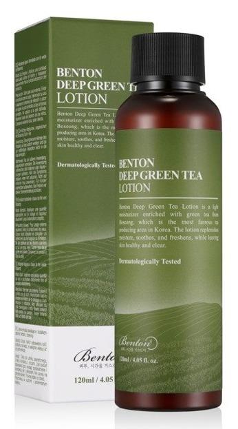 Benton Deep Green Tea Lotion Lekka emulsja do twarzy 120ml