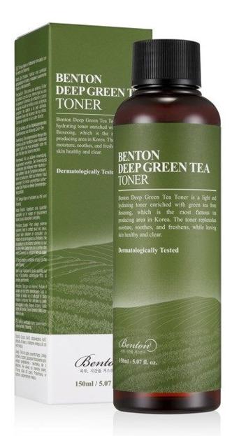 Benton Deep Green Tea Toner Lekki tonik do twarzy 150ml
