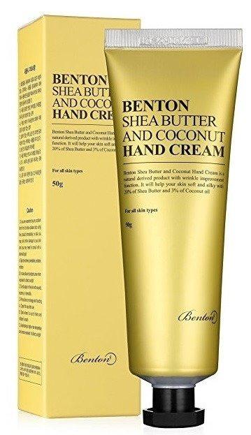 Benton Shea Butter And Coconut Hand Cream Krem do rąk 50g