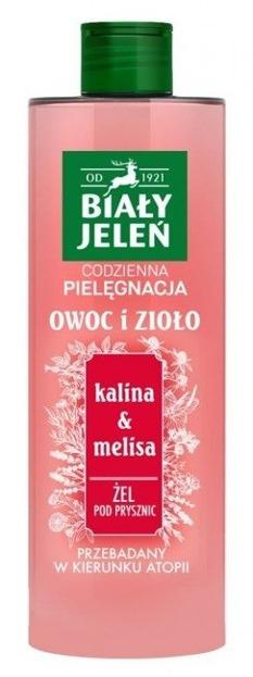 Biały Jeleń Żel pod prysznic Kalina&Melisa 400ml