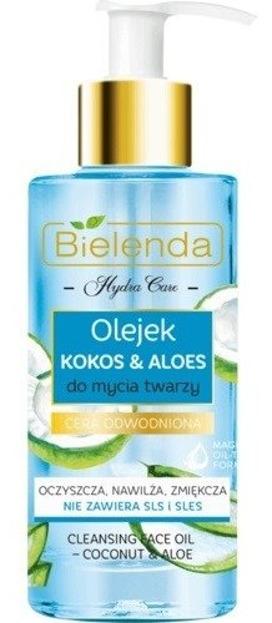 Bielenda Hydra Care Nawilżający olejek do mycia twarzy Kokos&Aloes 140ml