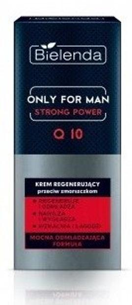 Bielenda Only For Men Strong Power Q10 Krem regenerujący przeciw zmarszczkom 50ml