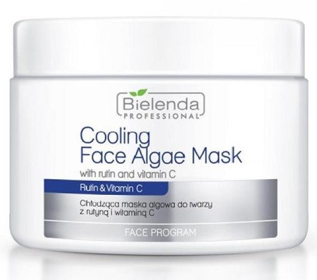 Bielenda Professional - Chłodząca maska algowa do twarzy z rutyną i witaminą C 190g